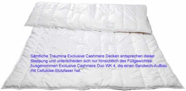 Traumina Exclusive Cashmere Duo Leicht WK 3