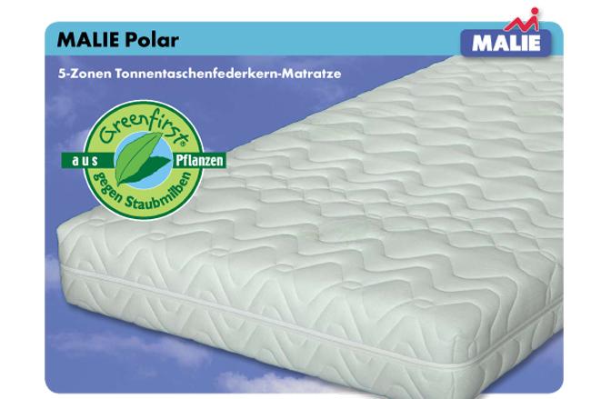 bettenluxus malie matratze polar. Black Bedroom Furniture Sets. Home Design Ideas