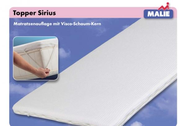 Malie Topper Sirius (Größe: 90x200 cm) 9122